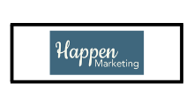 Logo Agencia de Marketing Digital Happen Marketing Uruguay